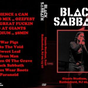 Black Sabbath 1997-06-15 Giants Stadium, East Rutherford, NJ DVD