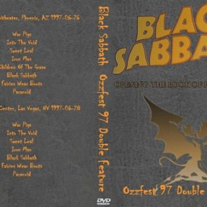 Black Sabbath 1997-06-26 Phoenix AZ + 1997-06-28 Las Vegas NV DVD