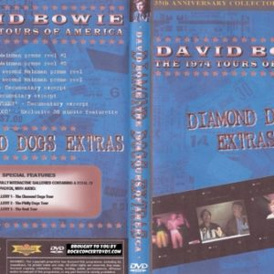 David Bowie - 1974 - Diamond Dogs Extras DVD