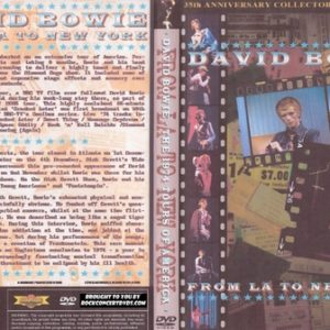 David Bowie - 1974 - From LA to New York DVD