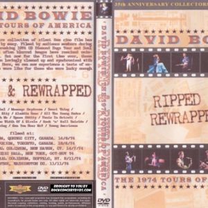 David Bowie - 1974 USA and Canada DVD