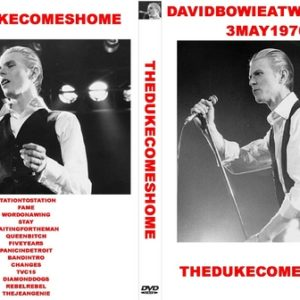 David Bowie - 1976-05-03 - Wembley Empire Pool - London - England DVD