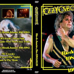 Ozzy Osbourne 1985-01-16-19 Rio De Janeiro Brazil DVD
