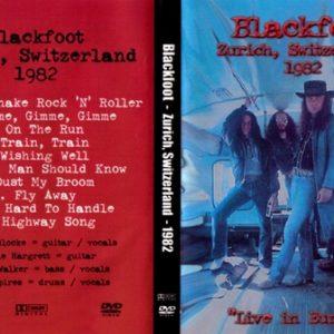 Blackfoot 1982-03-27 Zürich, Switzerland DVD