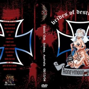 Brides Of Destruction 2004-08-13 Sydney Australia DVD