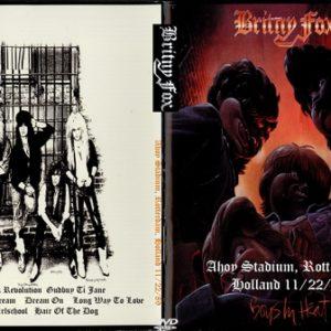 Britny Fox 1989-11-22 Ahoy Stadium, Rotterdam, Holland DVD