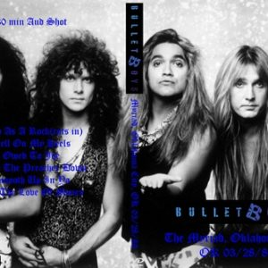 Bulletboys 1989-03-28 The Myriad, Oklahoma City, OK DVD