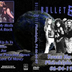 Bulletboys 1989-06-04 Philadelphia PA DVD