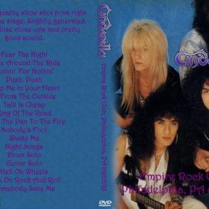 Cinderella 1985-06-20 Empire Rock Club, Philadelphia, PA DVD