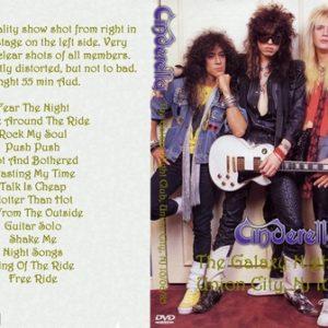 Cinderella 1985-10-06 The Galaxy Night Club, Union City, NJ DVD