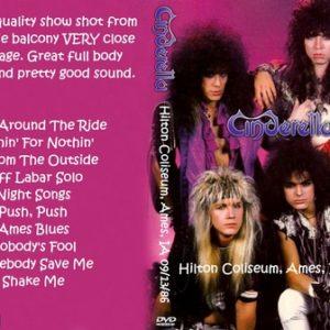 Cinderella 1986-09-13 Hilton Coliseum, Ames, IA DVD