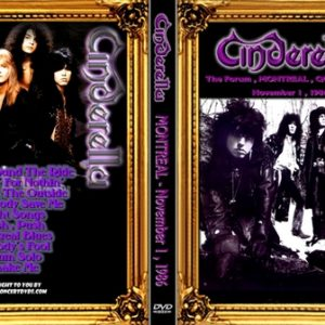 Cinderella 1986-11-01 The Forum, Montreal, QC DVD
