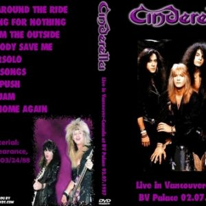 Cinderella 1987-07-02 BC Place Stadium, Vancouver, BC + 1988-03-24 In Store Appearance, St. Louis, MO DVD