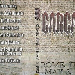 Carcass 1992-05-03 Rome Italy DVD