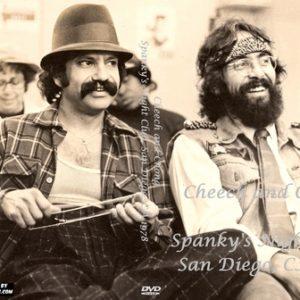 Cheech and Chong   Spanky's Night Club, San Diego, CA 1978 DVD