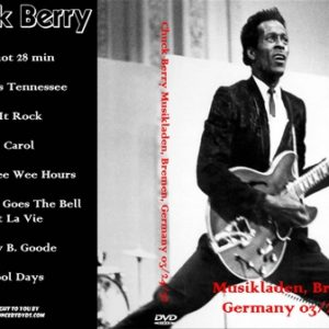 Chuck Berry 1972-03-24 Musikladen, Bremen, Germany DVD
