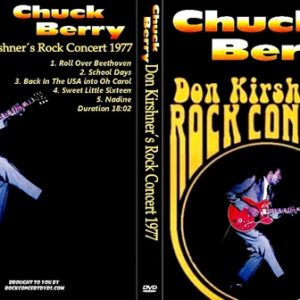 Chuck Berry 1977 Don Kirshner's Rock Concert DVD