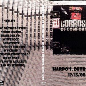 Corrosion of Conformity 2000-12-15 Harpo's, Detroit, MI DVD