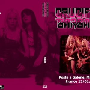 Crucified Barbara 2009-12-01 Poste a Galene, Marseille, France DVD