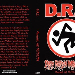 D.R.I. 1994-10-02 Montréal, QC DVD