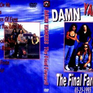 Damn Yankees 1993-03-23 Camp LeJune, Jacksonville, NC DVD