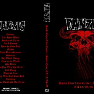 Danzig 1992-10-28 Santa Cruz Civic Center, Santa Cruz, CA DVD