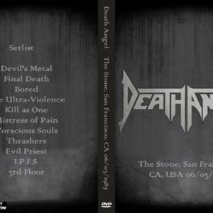 Death Angel 1987-06-03 The Stone, San Francisco, CA DVD