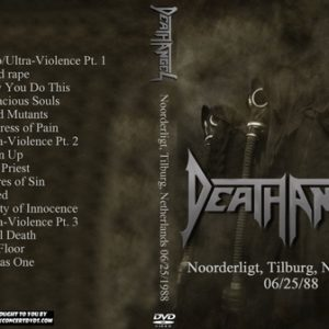 Death Angel 1988-06-25 Noorderligt, Tilburg, Netherlands DVD