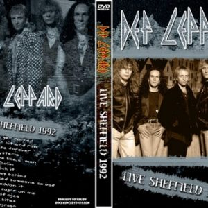 Def Leppard 1992-06-24 Sheffield UK DVD