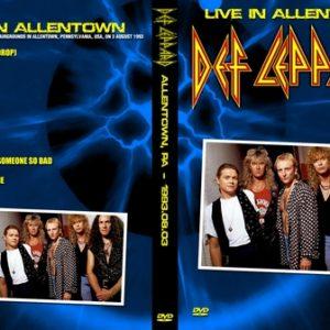 Def Leppard 1993-08-03 Allentown PA DVD