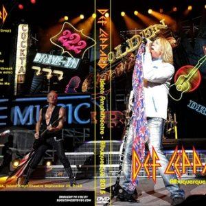Def Leppard 2015-09-25 Albuquerque NM DVD