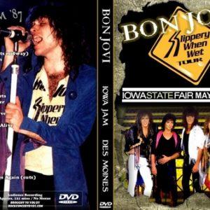 Dokken 1987-05-17 Iowa State Fair, Des Moines, IA DVD + Cinderella Bon Jovi