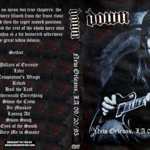 Down 1995-09-20 New Orleans, LA DVD