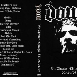 Down 1995-09-24 Vic Theater, Chicago, IL DVD