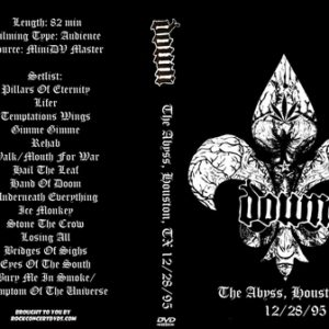 Down 1995-12-28 The Abyss, Houston, TX DVD