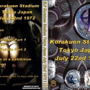 ELP 1972-07-22 Tokyo Japan DVD