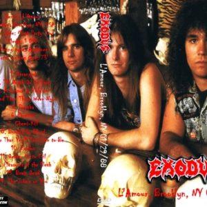 Exodus 1988-01-29 L'Amour, Brooklyn, NY DVD