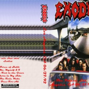 Exodus 1992-06-27 The Palace, LosAngeles, CA DVD
