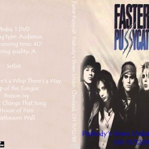 Faster Pussycat 1989-11-12 Peabody's Down Under, Cleveland, OH DVD