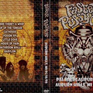 Faster Pussycat 1990-05-18 Palace Of Auburn Hills, Auburn Hills, MI DVD