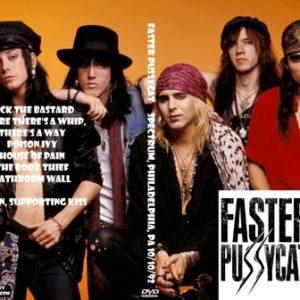 Faster Pussycat 1992-10-10  Spectrum, Philadelphia, PA DVD