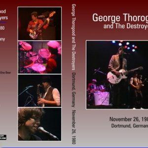 George Thorogood & The Destroyers 1980-11-26 Rockpalast, Westfalenhalle, Dortmund, Germany DVD