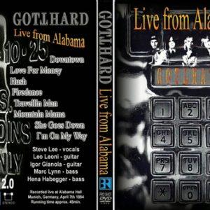 Gotthard 1994-07-04 Alabama, Germany DVD