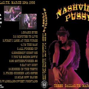 nashville-pussy-1998-03-20-dallas-tx-dvd