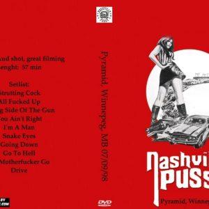 nashville-pussy-1998-07-09-pyramid-winnepeg-mb-dvd