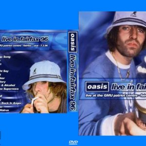 oasis-1996-03-07-patriot-center-fairfax-va-dvd