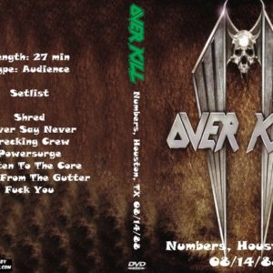 overkill-1988-08-14-numbers-houston-tx-dvd