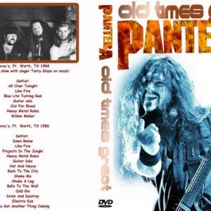 Pantera 1984-1986 Old Times Great DVD
