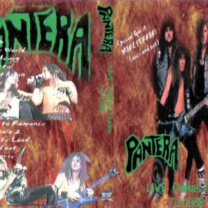 Pantera 1988-02-07 Dallas TX DVD