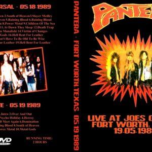Pantera 1989-05-18 Fort Worth, TX DVD
